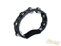 Meinl Hand Held Tambourine-Black/Nickel