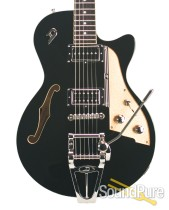 Duesenberg Starplayer TV Black Semi-Hollow Electric #161098