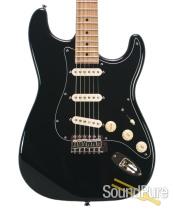 Michael Tuttle Custom Classic S Black Maple SSS #397