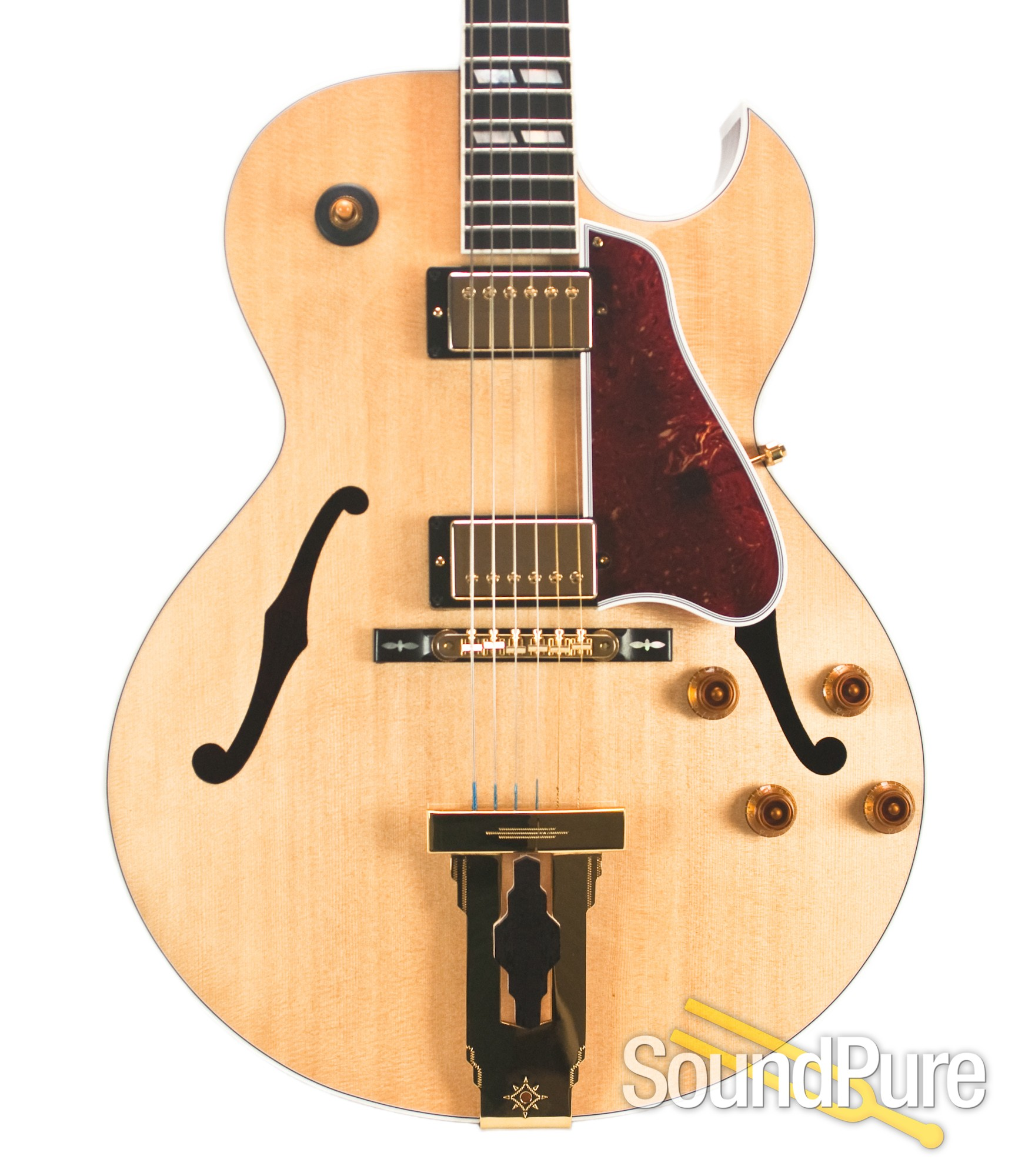 Gibson Custom L-4 Crimson Archtop Guitar #10064001 - Used