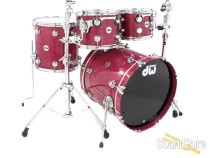 DW 4pc Collectors Series Purpleheart Drum Set