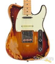 Suhr Classic T Extreme Antique 3-Tone Burst SSS #29486