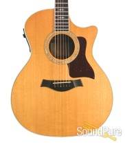Taylor 814CE Grand Auditorium Acoustic Guitar - Used