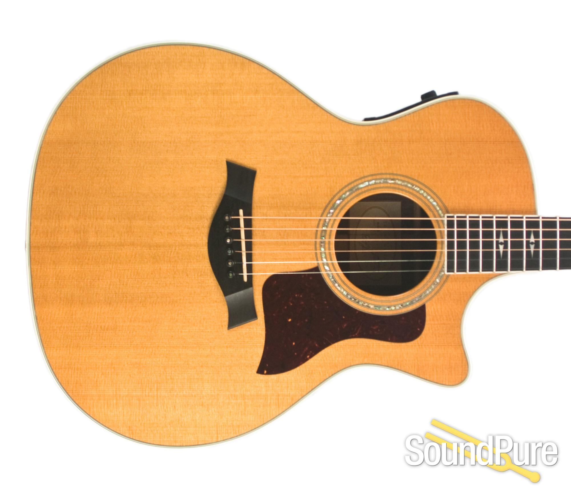taylor 814ce grand auditorium acoustic guitar used ebay. Black Bedroom Furniture Sets. Home Design Ideas