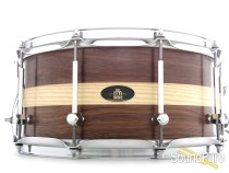 RBH 6.5x14 Prestige Walnut w/ Ash Inlay Snare Drum