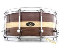 RBH 6.5x14 Prestige Walnut w/ Ash Inlay Snare Drum