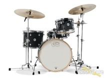 DW 4pc Design Series Frequent Flyer Drum Set Kit Satin Black