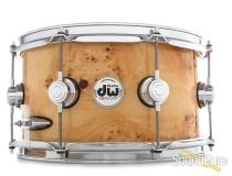 DW 7x13 Collectors Exotic Maple Snare Drum-Mapa Burl