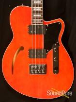 Reverend Dub King Metallic Alp Bass Guitar w/case