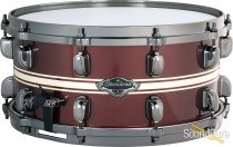 Tama 6.5x14 Starclassic Performer Snare Drum-Fire Brick Red