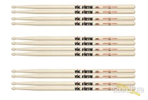 Vic Firth 7A Wood Tip American Classic Drumsticks-6 Pairs