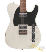Suhr Custom Classic T Antique Trans White #28473 - Used