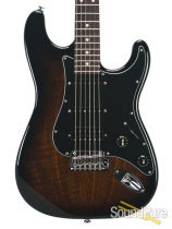 Suhr Custom Classic Figured Walnut 2-Tone Burst HSS #JS5F3Q