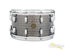 Gretsch 8x14 Hammered Black Steel Snare Drum