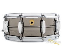 Ludwig 5X14 Hammered Black Beauty Snare Drum-Imperial