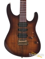 Suhr Modern Figured Koa Brown Burst Electric #29908