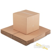Sound Pure 3pc Drum Set Shipping Box Package-SPD1
