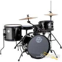 Ludwig Pocket Kit Drum Set Black Sparkle