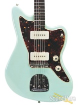 Mario Guitars Jazz Style Sonic Blue Electric Guitar #1216232