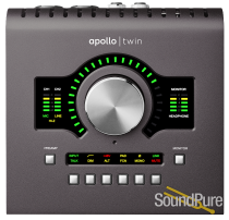 Apollo Twin MkII w/ SOLO DSP Processing