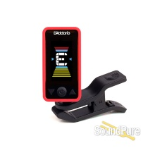 D'addario Planet Waves Eclipse Headstock Tuner, Red