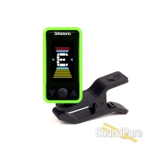 D'addario Planet Waves Eclipse Headstock Tuner, Green