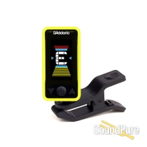 D'addario Planet Waves Eclipse Headstock Tuner, Yellow