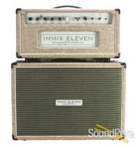 Immix Eleven VS15 Fawn Head & 1x12 Cab w/ Alnico Blue - Used