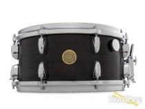 Gretsch 6.5x14 USA Ebony Ribbon Mahogany Snare Drum