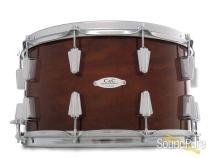 C&C Drums Custom 8x14 Maple/Gum Snare Drum-Mahogany Stain