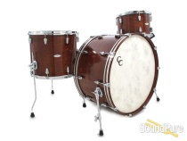 C&C Drums Maple/Gum Drum Set-Mahogany Stain Gloss