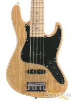 Sadowsky MV5 Natural Gloss 5-String Electric Bass Guitar