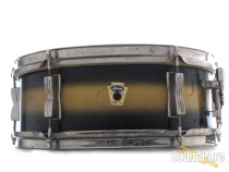Ludwig 5x14 Pioneer Snare Drum Black/Gold Duco