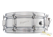 Rogers 5x14 Powertone Chrome over Brass Snare Drum