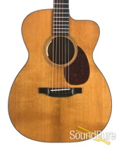 Bourgeois Custom Country Boy OM Addy/Mahogany #7077- Used