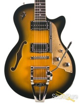 Duesenberg Starplayer TV 2-Tone Burst Semi-Hollow #161529