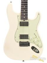 Tuttle Custom Classic S Vintage White HH IRW #209 - Used