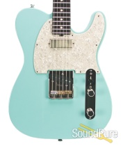 Michael Tuttle Tuned T Daphne Blue Electric #428