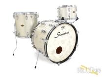 Slingerland 3pc 1960s Vintage Drum Set - Silver Sparkle