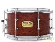 Pork Pie 7x13 Brandied Peach Snare Drum-Mahogany Oil-Tube