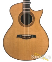 Hatcher Greta Red Cedar/Brazilian RW Acoustic - Used