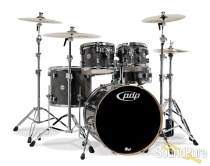 PDP 5pc Concept Maple Drum Set by DW-Black Sparkle