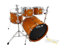 Pork Pie 4pc Maple Drum Set- Brandied Peach-Orange Oil