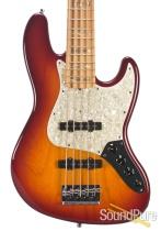 Fender CS Custom Classic Jazz 5 Cherry Sunburst Bass - Used