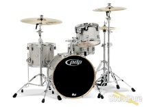 PDP 4pc Concept Birch Drum Set Shell Pack-Silver Sparkle