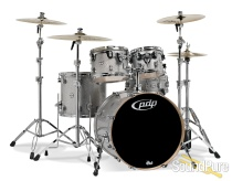 PDP 5pc Concept Birch Drum Set Shell Pack-Silver Sparkle