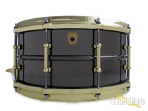 Ludwig 6.5x14 Black Beauty Snare Drum-Tube Lugs-Brass