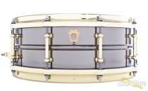 Ludwig 5x14 Black Beauty Snare Drum-Tube Lugs-Brass