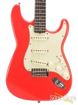 Mario Guitars S-Style Fiesta Red SSS IRW Electric #317243