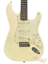 Mario Guitars S-Style Vintage White SSS IRW Electric #317241